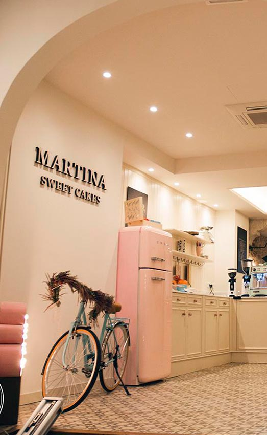 Coffee shop y pastelería