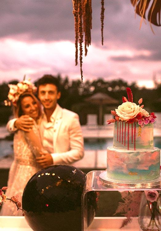 Pasteles para bodas y eventos